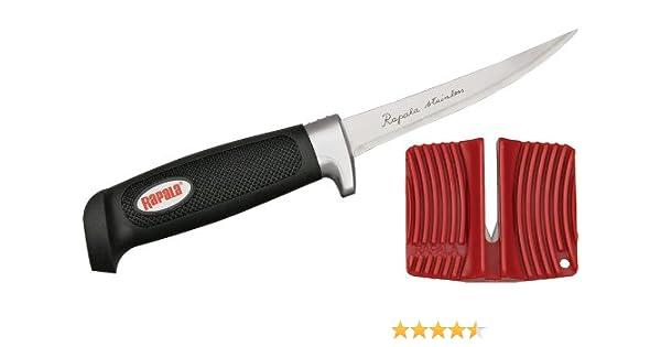 Rapala4 Soft Grip Filet//Single Stage Sharpener//Mantel