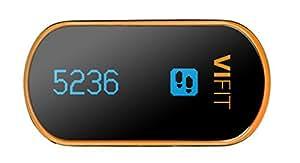 Medisana ViFit Connect Aktivitäts- und Schlaftracker (Schritte, Distanz, Kalorien, Aktivitätsdauer, Schlaf), Bluetooth