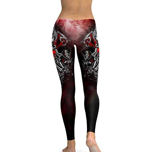 Femmes leggings Modèle gothique Pantalon Maigre Aptitude Pantalon Sports Pantalon Faire des exercices leggings Treggins Entraînement Pantalon Maigre Survêtement S - 5XL hibote #4