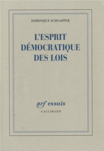 L'esprit dmocratique des lois