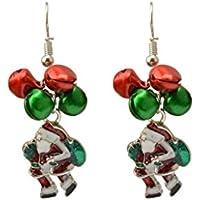 Orecchini Orecchio Penzolare Natale Ornamenti Regali Goccia Santa Orecchini Campana, Idea Regalo