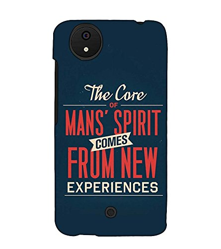 Fuson Designer Back Case Cover for Micromax Canvas Android A1 AQ4501 :: Micromax Canvas Android A1 (The Core Of Mans Spirit)  available at amazon for Rs.397