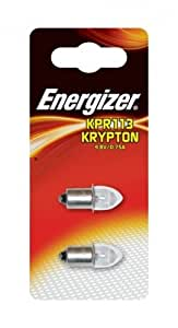 Energizer 2 Ampoules Krypton KPR113 .8V 0.75A BL X2