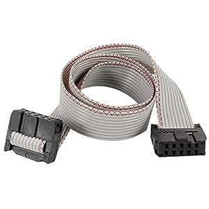 30 cm de Long, Double connecteur IDC FC - 10P JTAG télécharger FFC fil