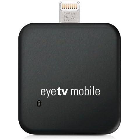 Elgato EyeTV Mobile - Sintonizador de televisión para iPad y iPhone de Apple (conector Lightning),