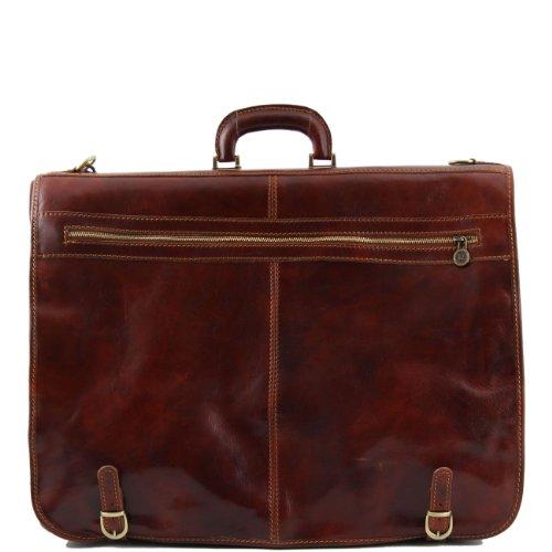 Tuscany Leather Papeete Porta trajes en piel Marrón