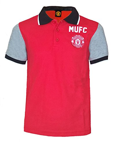 Adidas Manchester United FC Home Jersey 2015 2016 Juniors Red ... 3707beea6