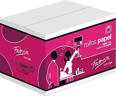 Fabrisa 4605511 - Rollo papel térmico sumadora, 60