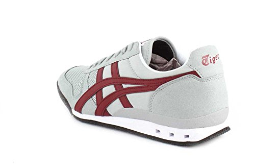 Onitsuka Tiger Mexico 66, Baskets mode homme Mid Grey/Burgundy