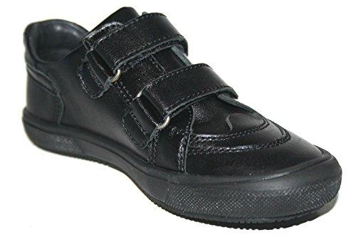 Richter Shoes Naik, Baskets mode garçons Schwarz (Schwarz)
