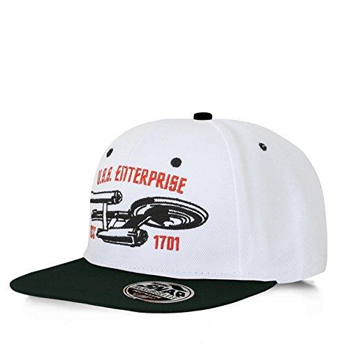Hybris Film - Star Trek - USS Enterprise - Snapback Cap - Kappe - bestickt -...