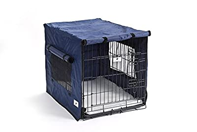 Settledown Waterproof Dog Crate Cover, 24-Inch