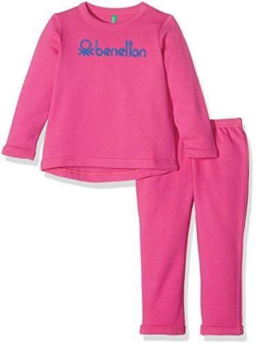 benetton-3j67z11id-conjunto-para-ninos-rosa-8-9-anos-talla-del-fabricante-l