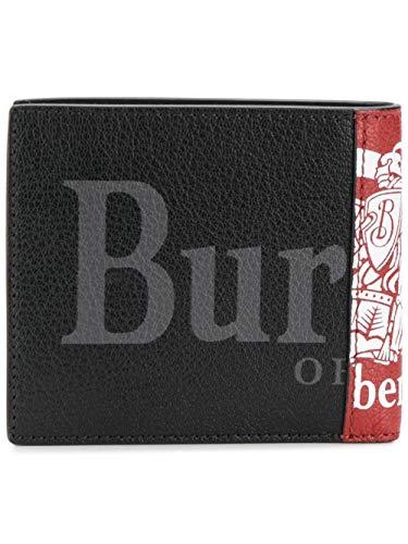 BURBERRY Herren 8005980 Rot Leder Brieftaschen