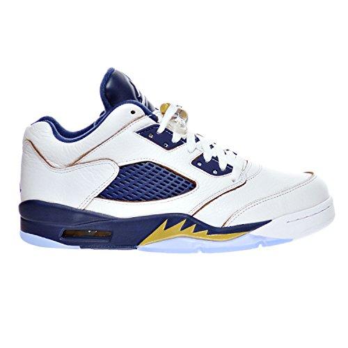 free shipping 378e7 73e93 Star Low Sport Chaussures 5 White Mtlc 5 Homme 40 Navy De Eu Retro Jordan  Air Gold basketball Blanc mid Nike qSwRTT