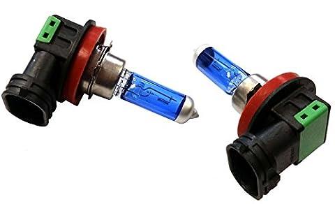XtremeAuto® x2 61mm H11 Blue Headlight Driving Fog Light Bulbs