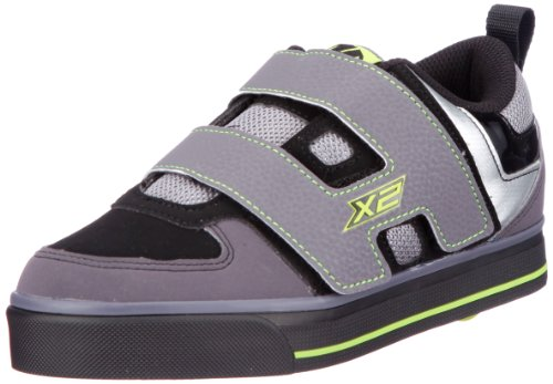 Heelys  DART, basket mixte enfant Gris - Grau (Gray/Black/Green)