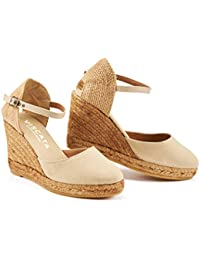6ce1f43818 Amazon.it: espadrillas donna zeppa - Beige: Scarpe e borse