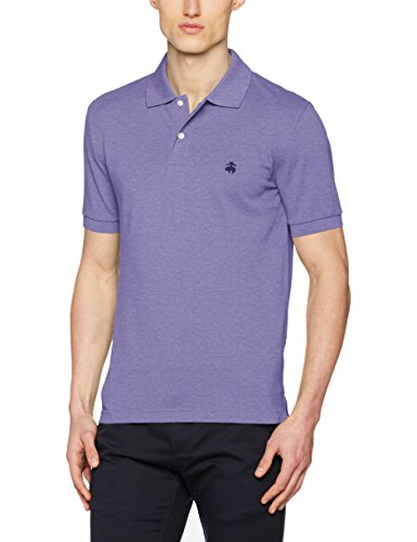 Brooks Brothers Herren Poloshirt Viola (Light/Pastel Purple)
