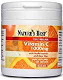 Vitamin C 1000mg- advanced vitamin C with rosehips and bioflavonoids, 100% UK-made - 60 tablets
