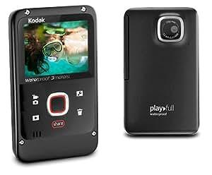 Kodak Playfull Waterproof Video Camera - Black (720p HD, 2x Digital Zoom) 2.0 inch LCD