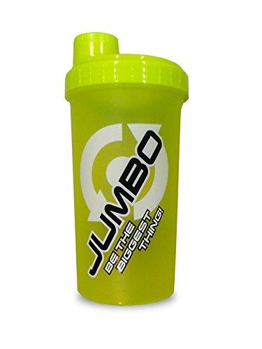 Scitec Nutrition Shaker, Jumbo Gain, 700 ml, neon yellow