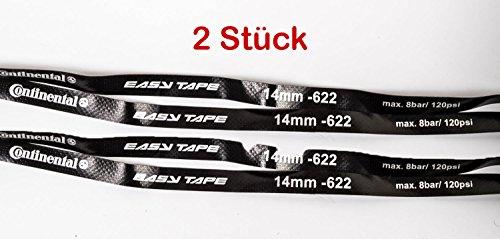 "2 Stück - 28-29\"" Zoll Continental Fahrrad Felgenband 14mm Easy Tape 14-622 MTB City Trekking bis 8 bar"