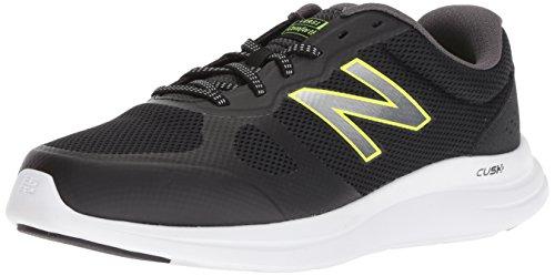 Preisvergleich Produktbild New Balance Men's Versi v1 Running Shoe,  Black,  11 4E US
