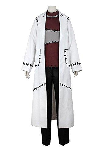 Kostüm Cosplay Soul Eater - Soul Eater Franken Stein Doctor Cosplay Kostüm Herren XXL