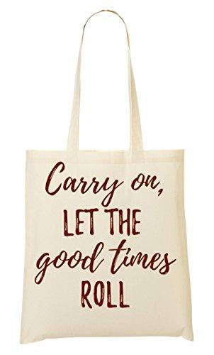 C+P Let The Good Times Roll Tragetasche Einkaufstasche -