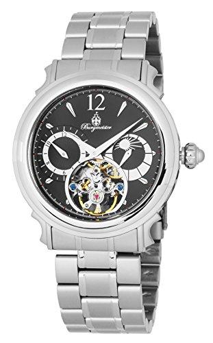 Burgmeister BM345-121 - Reloj de pulsera hombre, acero inoxidable, color Plata