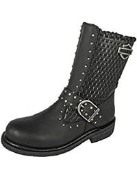 HARLEY DAVIDSON Chaussures Femmes - Bottes ABBIE - black