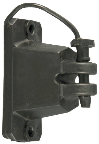Rot Snap 'R iwplnb-rs schwarz Holz Post Pin Lock Isolatoren, 25Count