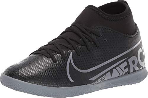 Nike Unisex-Kinder Jr Superfly 7 Club Ic Fußballschuhe, Mehrfarbig (Black/MTLC Cool Grey/Cool Grey 1), 38 EU