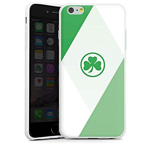 Apple iPhone X Silikon Hülle Case Schutzhülle SpVgg Greuther Fürth Fanartikel Fußball Silikon Case weiß