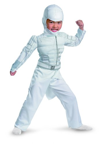 Muscle Jumpsuit Costume Child Toddler Large 4-6 (Gi Joe Storm Shadow Kostüme)