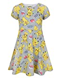 Pokemon Pikachu Girl's Short Sleeved Dress (9-10 Years)