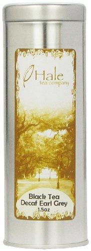 Hale Tea Black Tea, Decaf Earl Grey, 1.5-Ounce