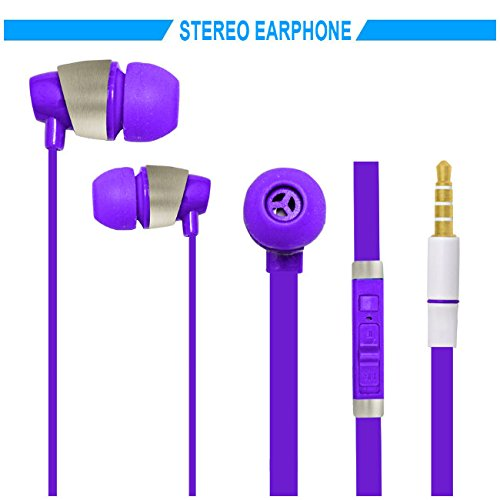 Hello Zone Sporty look and Comfort Fit Stereo Headset Handsfree Headphone Earphone with Mic 3.5 MM Jack for Sony Xperia T2 Ultra -Purple  available at amazon for Rs.198