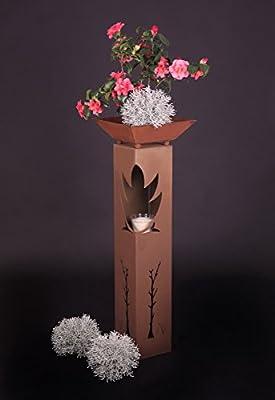 Rost Säule RS44 Rostsäulen Säulen Garten Deko Blumensäule keine Versandkosten von Jabo-Design auf Du und dein Garten