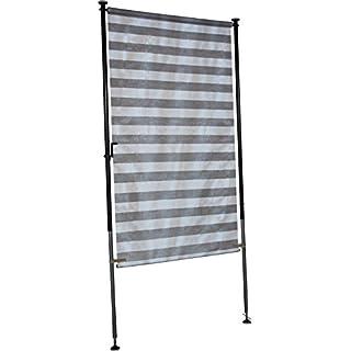 Angerer Balkon Sichtschutz Nr. 3800 grau, 120 cm breit, 2318/3800