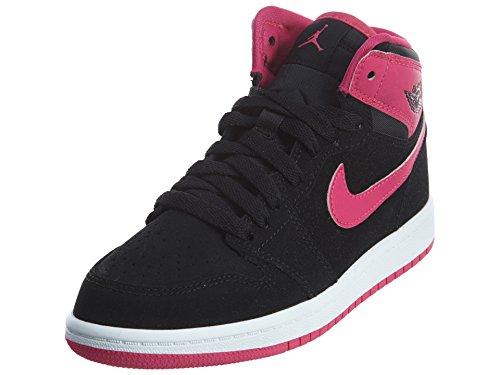 Nike Air Jordan 1 Retro Hoch Gp-Basketball-Schuh Black/White/Vivid Pink/Vivid Pink