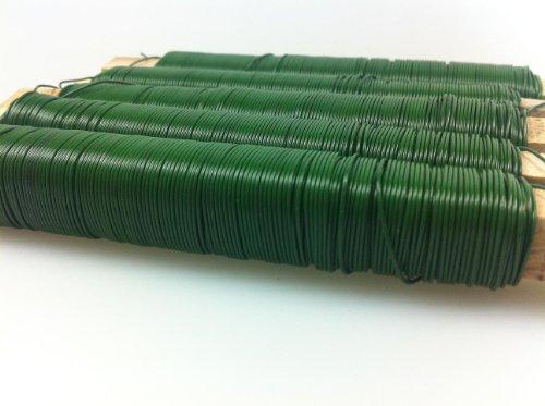 Fil bobiné grünlackiert 0,65 mm 2,5 kg (25 x 100 g tige env.38 m)