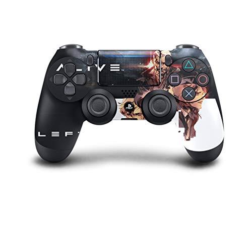 PS4 DualShock Wireless Controller Pro Konsole PlayStation4 Controller mit weichem Griff und exklusiver individueller Version Skin (PS4 Left Alive) Dream-team-bundle