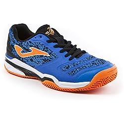 JOMA Slam, Zapatillas de Tenis para Hombre, Azul (Royal), 43 EU