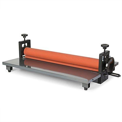 Buoqua laminatrice a freddo manuale 650mm plastificatrice a freddo manuale laminatore 650mm gomma morbida e alla superficie liscia