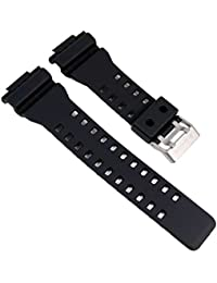 Casio GA-100 Black resin watch strap
