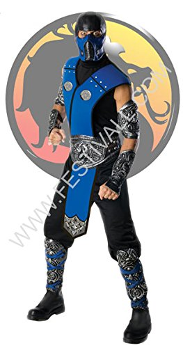 Zero Kostüm Sub - Festival Magia und Giocoleria Kostüm Mortal Kombat - Sub -Zero (R199)