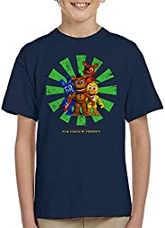 Cloud City 7 Five Nights At Freddys Retro Japanese Kid's T-S