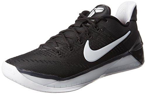 unkel Basketballschuhe Schwarz/Weiß 852425-001 - Schwarz, 8 UK (Nike Kobe)